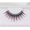 Eyelashes Black/Red with Rhinestone